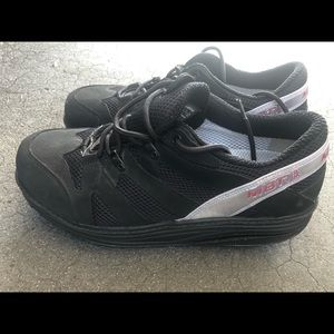MBT Men's Black Leather Toning Sneakers Size 10